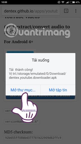 Cách tải video YouTube về điện thoại Android - Quantrimang com
