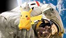 Phi hành gia ngoài vũ trụ có đi bắt Pokemon được không?