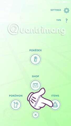 Bạn sẽ làm gì khi báo lỗi Your Bag is Full khi nhận đồ trong Pokemon Go?