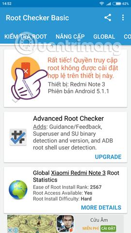 Cách kiểm tra thiết bị Android đã root hay chưa