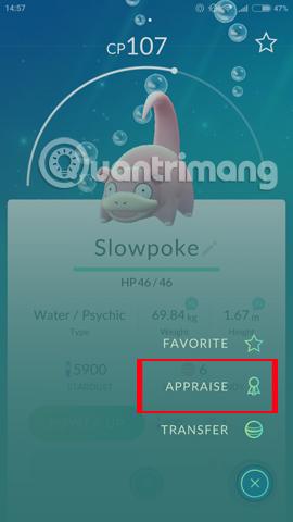 Pokemon Appraise