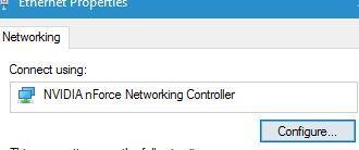 "Sửa nhanh lỗi ""The default gateway is not available"" trên Windows 10"