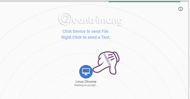 Cách chia sẻ dữ liệu giữa các thiết bị không cần cài đặt phần mềm