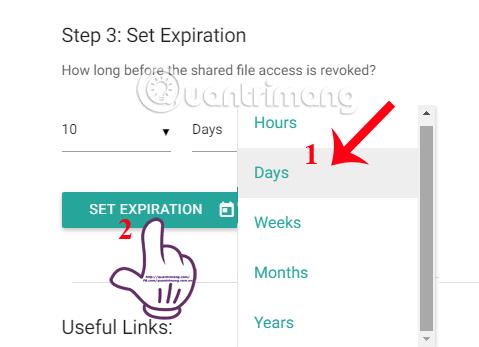 Cách giới hạn thời gian link chia sẻ trên Google Drive