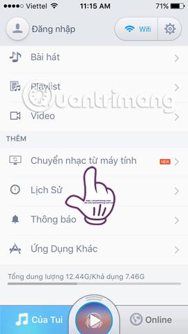 Cách chuyển nhạc từ máy tính vào iPhone nhanh chóng