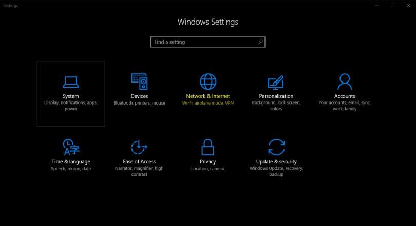 Đây là cách reset lại thiết lập mạng trên windows 10 chỉ với 1 cú click chuột
