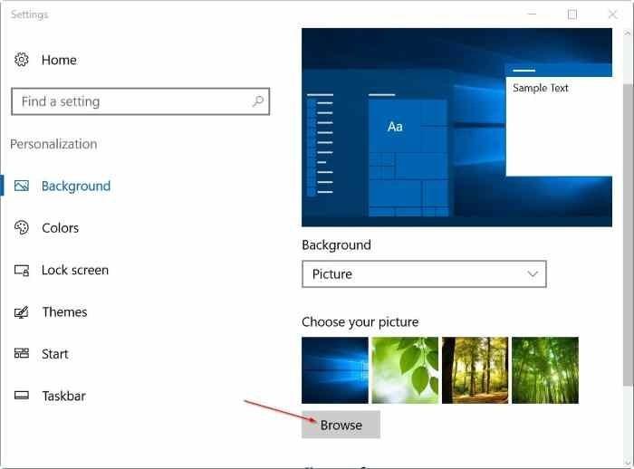 3 cách thiết lập các ảnh nền khác nhau trên mỗi màn hình Windows 10