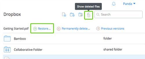 Hướng dẫn khôi phục các file Dropbox bị xóa trên máy tính Windows và Mac