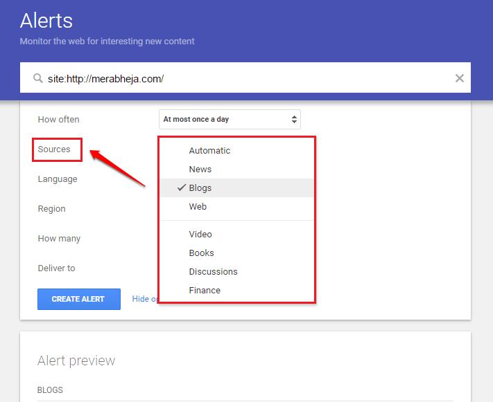 Hướng dẫn từ A-Z cách tạo công cụ truy vấn Google Alerts