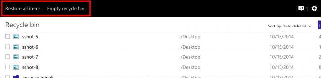 Khôi phục lại các file đã bị xóa từ dịch vụ đám mây