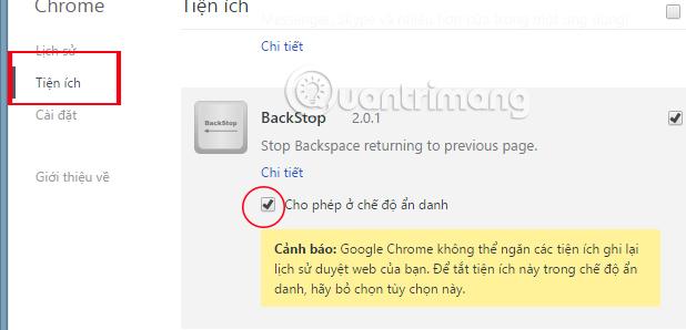 Cách vô hiệu hóa phím BackSpace trên Chrome và Firefox