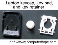 Hướng dẫn xử lý khi key bàn phím laptop bị hỏng