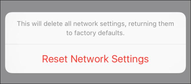 Hướng dẫn reset mạng, thiết lập lại kết nối mạng trên iPhone