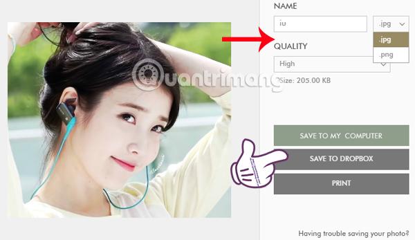 Cách thay đổi kích thước ảnh trên ứng dụng Fotor online