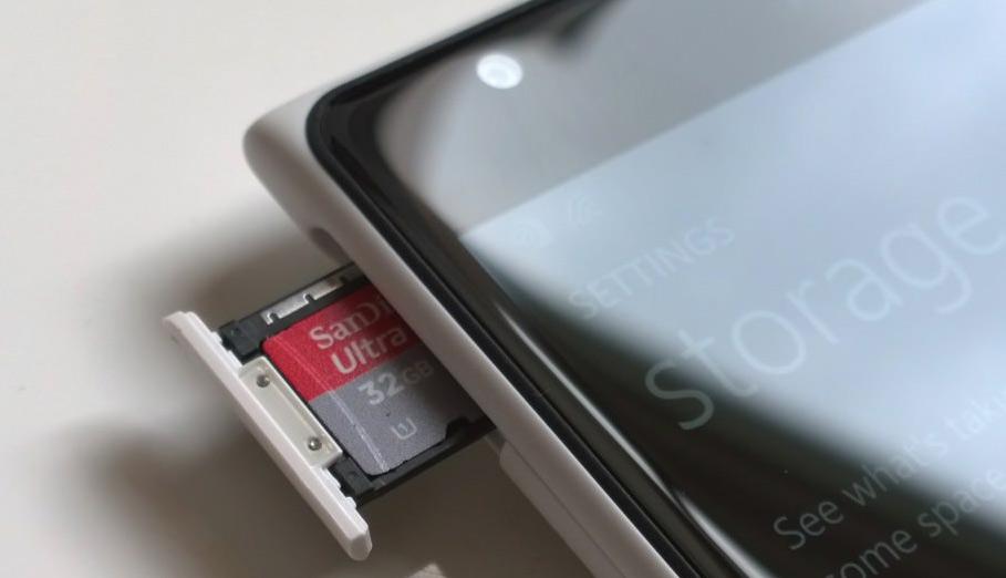 Cách sửa lỗi vấn đề quét thẻ nhớ trên Windows Phone