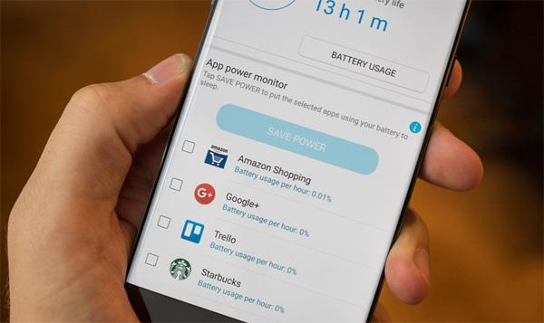 Tăng thời gian dùng pin trên Samsung Galaxy Note 7 bằng cách nào?