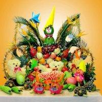 Trang trí mâm ngũ quả Trung thu với 7 cách tạo hình từ quả bưởi