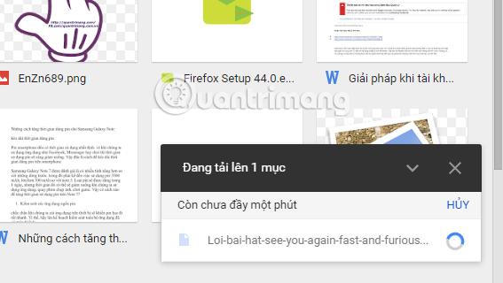 Cách chuyển PDF sang Word ngay trên Google Docs