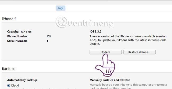 Làm sao để cập nhật lên bản iOS 10 chính thức?