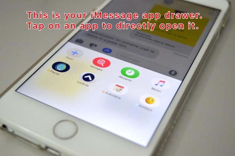 Cách cài đặt và sử dụng kho ứng dụng iMessage trên ứng dụng Message iOS 10