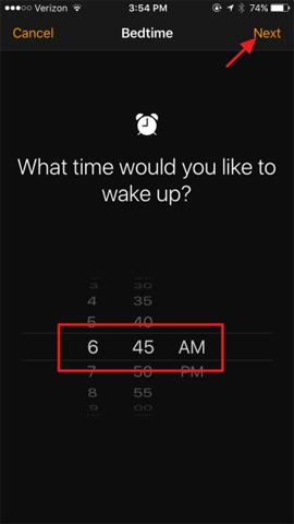 Kích hoạt tính năng Bedtime theo dõi giấc ngủ trên iOS 10