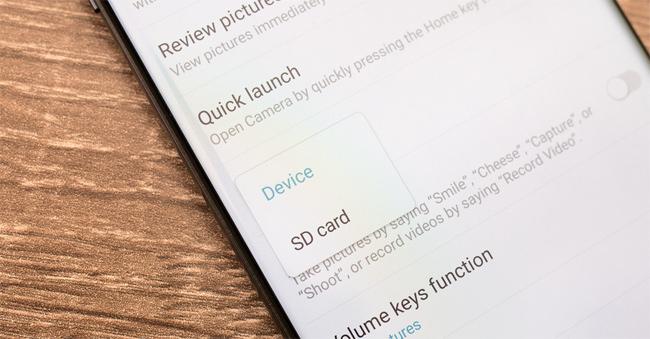 Những điều cần biết về thẻ nhớ microSD Samsung Galaxy Note 7