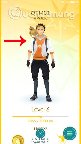Đi dạo cùng Pokemon với tính năng Buddy Pokemon