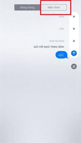 Cách tạo kiểu tin nhắn cho iMessage iOS 10