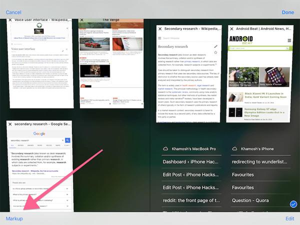 Cách dùng tính năng ghi chú lên Photo trên iOS 10