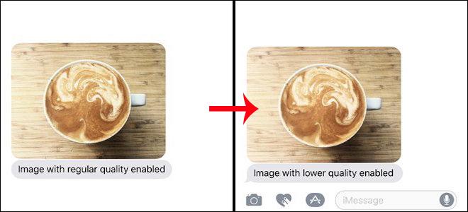 Cách tiết kiệm 3G khi gửi ảnh qua iMessage iOS 10