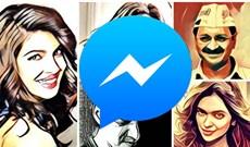 """Chụp ảnh """"tự sướng"""" phong cách hội họa trên Facebook Messenger"""