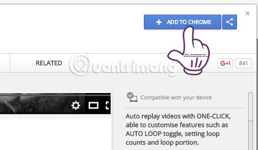 Làm sao để Youtube tự động phát lại video?