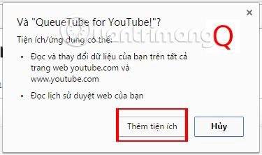 Cách tìm kiếm video Youtube không dừng video đang phát