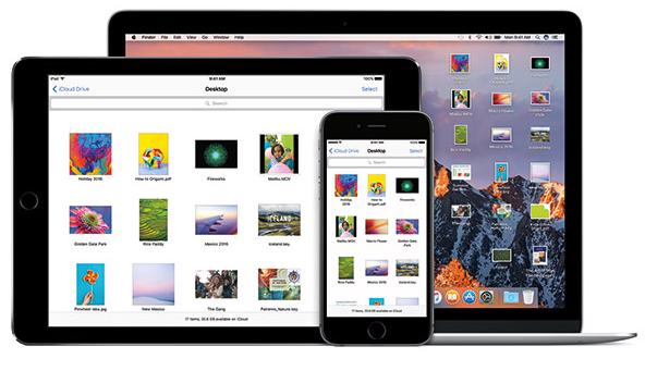 Đồng bộ các tập tin, thư mục trên Desktop và Document trên macOS Sierra với iCloud