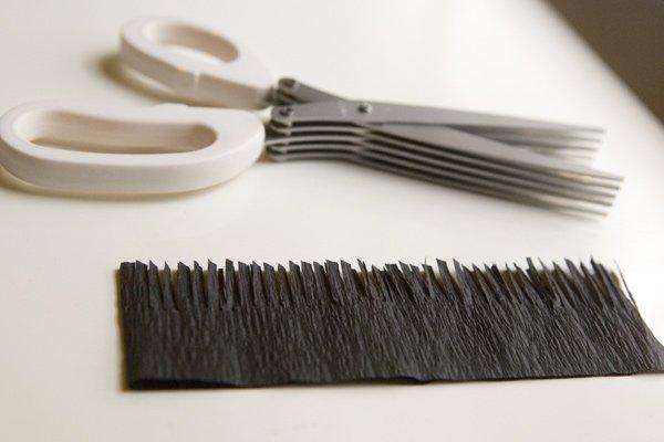 Cut tassel