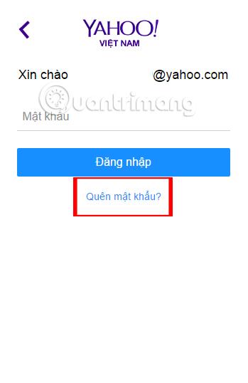 Hướng dẫn khôi phục tài khoản Yahoo Messenger