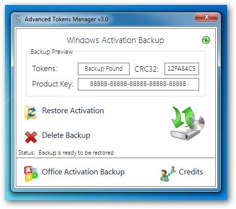 Đây là cách sao lưu, khôi phục bản quyền Windows 7/8/8.1 và Windows Vista