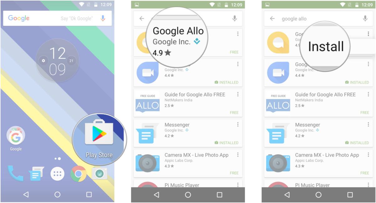 Tất tần tật cách cài đặt và thiết lập Google Allo