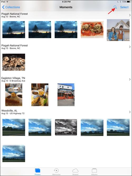 Cách sử dụng tính năng tìm hình ảnh bằng khuôn mặt trên Photos iOS 10