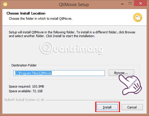 Cách chuyển đổi định dạng video cho smartphone bằng QtlMovie