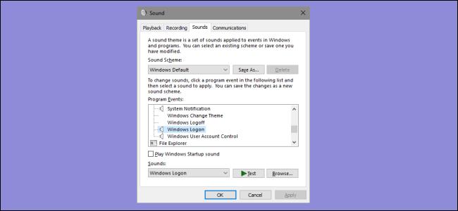 Hướng dẫn cách thay đổi âm báo khi Logoff, Logon và tắt máy trên Windows 10