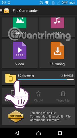 Cách chuyển bài hát tải từ Zing MP3 sang thư mục Music