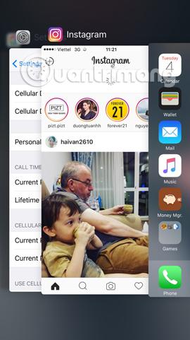"""Làm sao khi """"văng"""" khỏi ứng dụng đột ngột trên iOS 10?"""