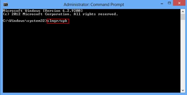 Làm thế nào để tìm Product key trên Windows 8 hoặc Windows 8.1?