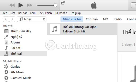 Hướng dẫn thay đổi ngôn ngữ iTunes sang tiếng Việt