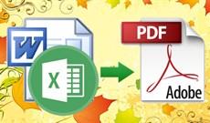 Cách chuyển đổi tài liệu Word sang PDF