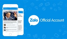 Sử dụng Zalo hiệu quả hơn với 4 dịch vụ cung cấp thông tin