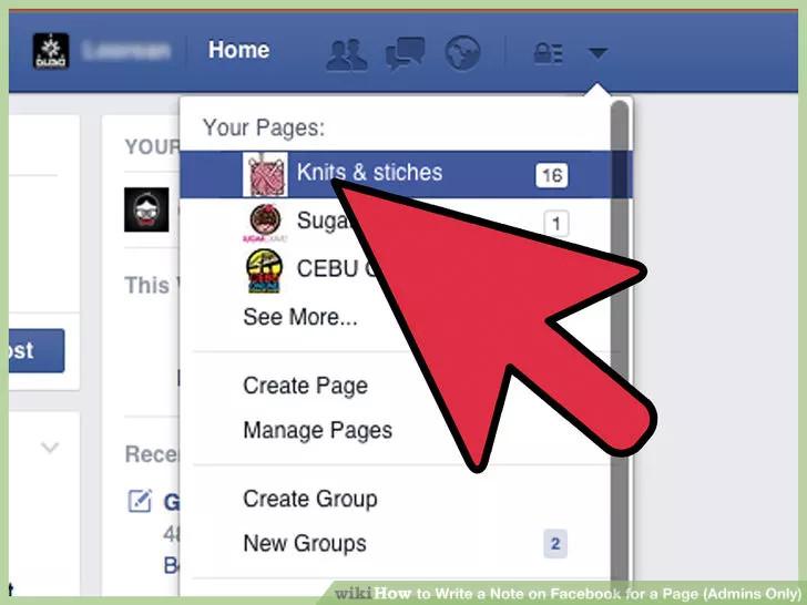 Hướng dẫn cách viết Note trên Fanpage Facebook (áp dụng cho Admin)