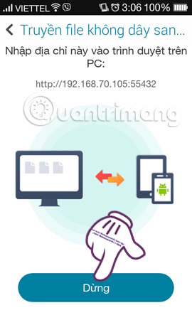 Chia sẻ file giữa PC và smartphone Android hiệu quả bằng Asus File Manager