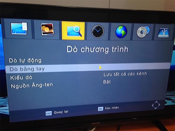 Sự cố mất tiếng khi xem truyền hình